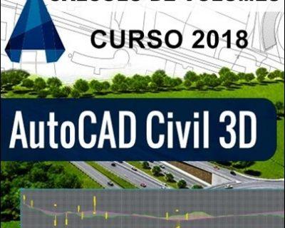Curso Autocad Civil 3D 2018 Cálculo de Volumes