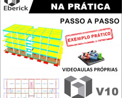 Curso Eberick V10 / 2018 Cálculo Estrutural Passo a Passo