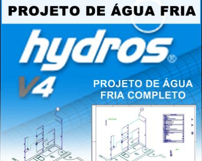 Curso Hydros Projeto de Água Fria Passo a Passo