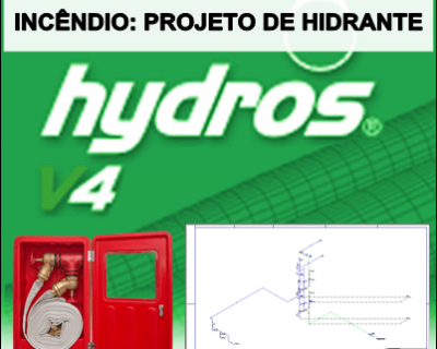 Curso Hydros Incêndio Projeto de Hidrante