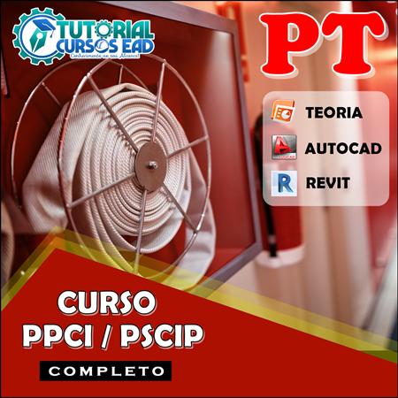 Curso PPCI/PSCIP 2020 Projeto Técnico Completo  (Teoria + Autocad + Revit)
