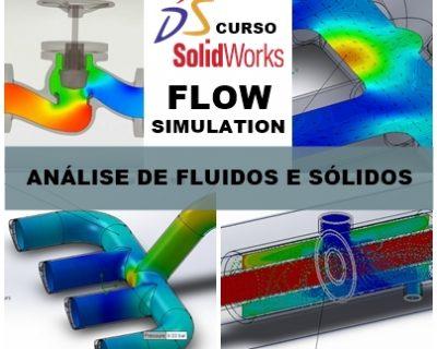 Curso Solidworks Flow Simulation Análise de Fluidos e Sólidos