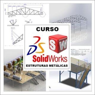 Curso Solidworks Estruturas Metálicas Completo