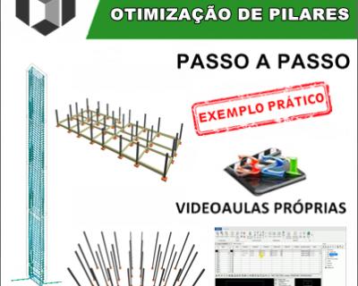 Curso Eberick 2020 Avançado Otimização de Pilares