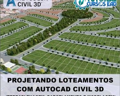 Curso Projetando Loteamentos com Autocad Civil 3D
