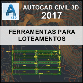Curso Autocad Civil 3D 2017  Ferramentas Loteamentos