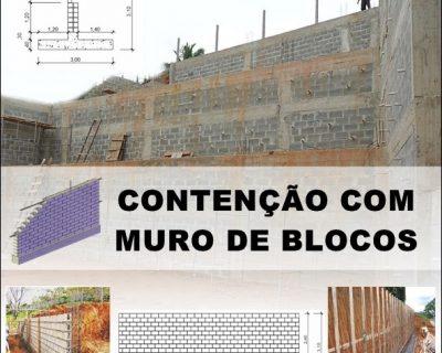 Curso Contenção com Muro em Blocos (Teoria e Prática)