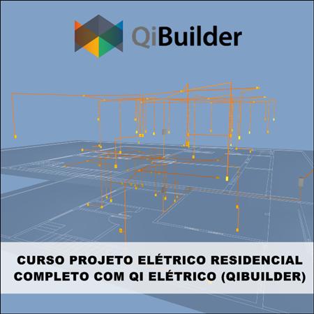 Curso Qibuilder Projeto Elétrico Residencial Completo