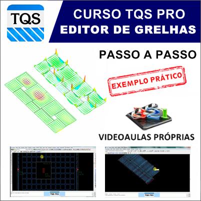 Curso TQS  Pro Avançado Otimização de Lajes (Editor de Grelhas)