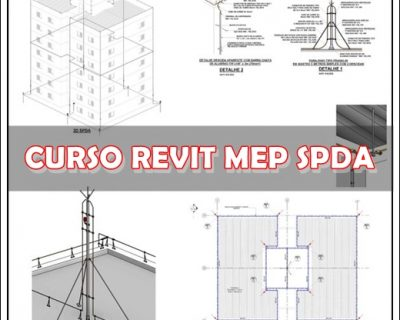 Curso Revit Mep – Projeto de SPDA com Template
