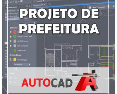Curso Autocad 2019/2020 Projetos para Prefeitura