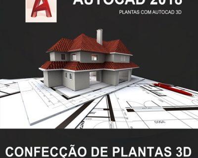 Curso Autocad 3D 2018 Confecção de Plantas