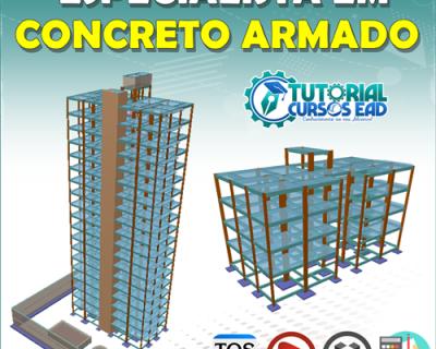 ESPECIALISTA EM CONCRETO ARMADO (CÁLCULO MANUAL E USO DE SOFTWARE)