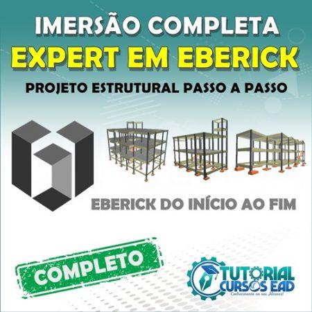 Expert em Eberick – Imersão completa de Cálculo Estrutural na prática