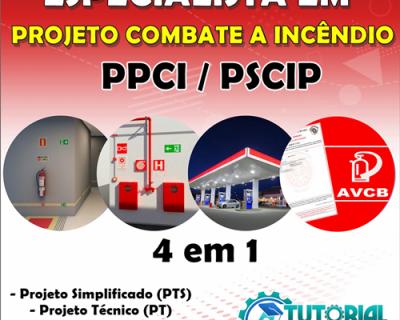 ESPECIALISTA EM PROJETOS DE COMBATE A INCÊNDIO – PPCI/PSCIP