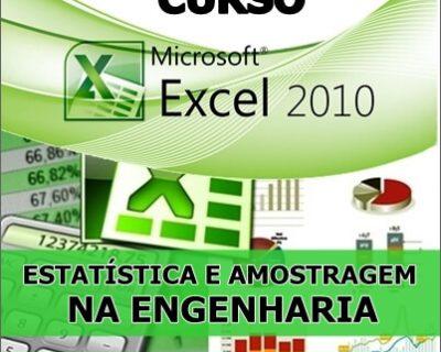 Curso Excel Estatística e Amostragem