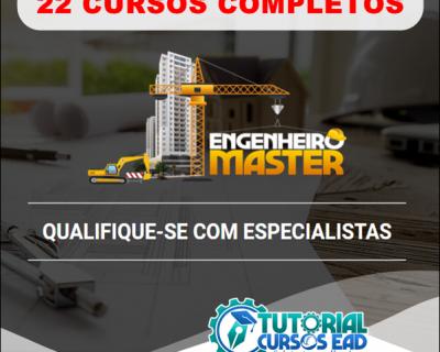 Combo Engenheiro Master Completo (22 cursos em todas as  áreas da engenharia)