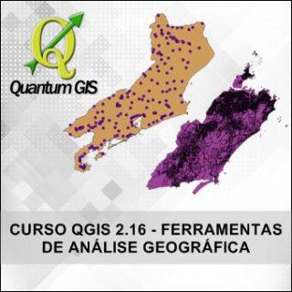 Curso Quantum Gis 2.16 Ferramentas de Análise Geográfica