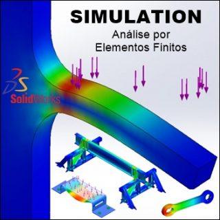 Curso Solidworks Simulation Análise por Elementos Finitos